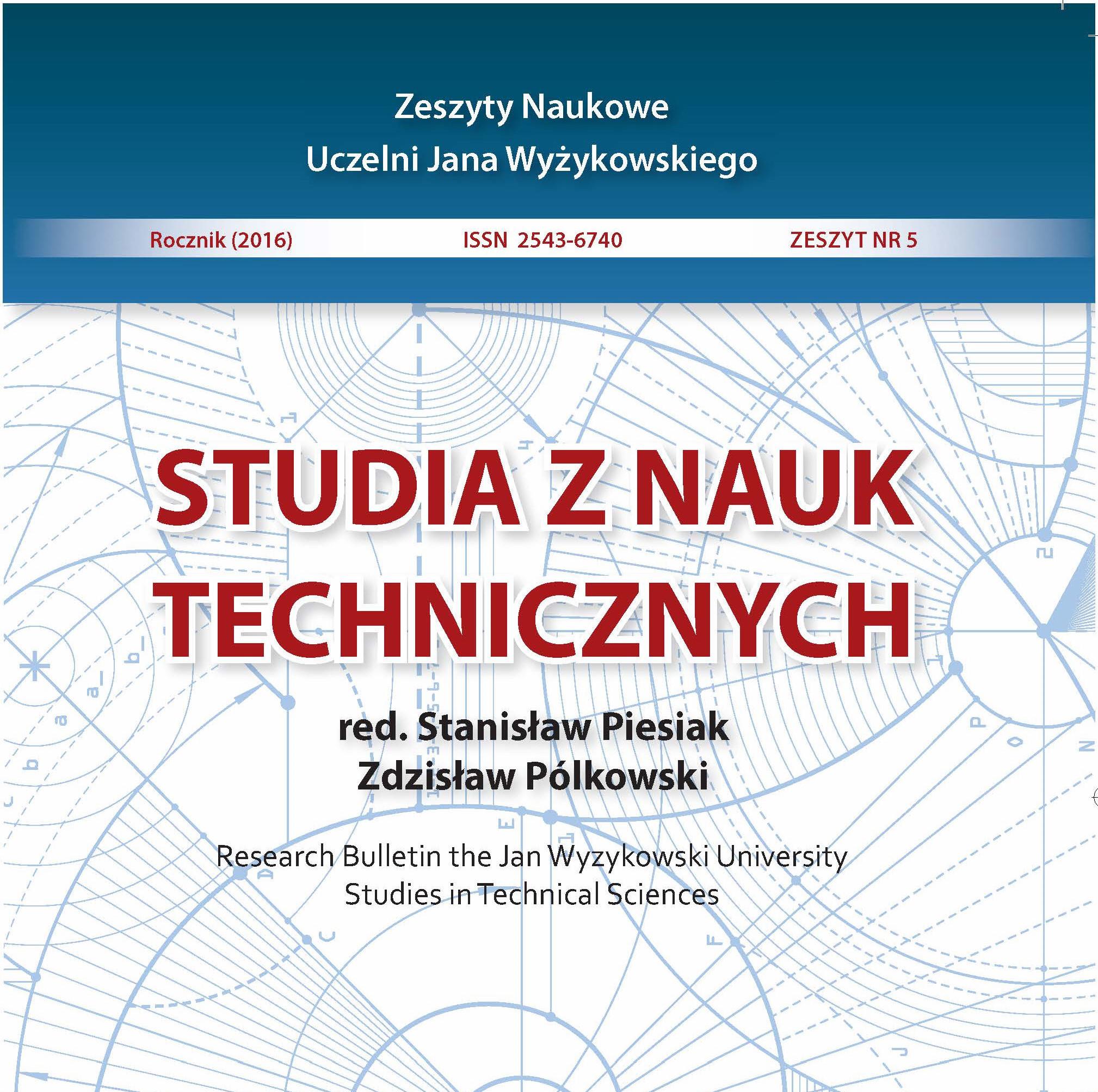 Studia z Nauk Technicznych